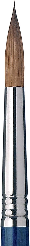 Size 2 Pure Kolinsky Speedball Art Products 2913-2 Escoda Optimo Series Artist Oil /& Acrylic Long Handle Bright Paint Brush