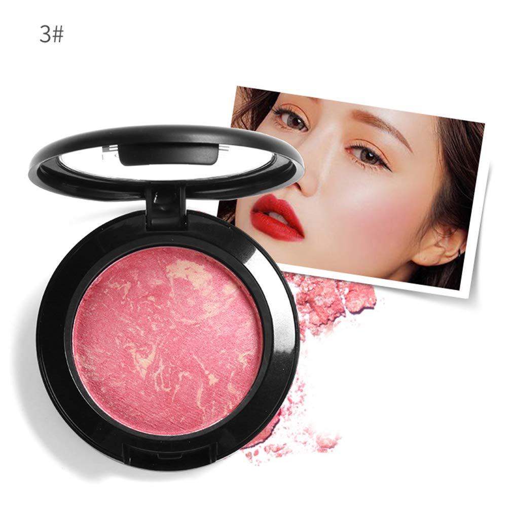 Pannow Kit de contorno de paleta de maquillaje al horno colorete (n. ° 1)