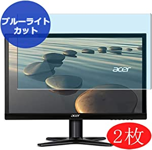 "【2 Pack】 Synvy Anti Blue Light Screen Protector for Acer g227 / g227hql / g277hl / g277hlbid / g277hla 21.5"" Display Monitor Anti Glare Screen Film Protective Protectors [Not Tempered Glass]"