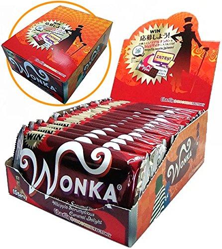 ウォンカチョコレート (キャラメル)15枚入りBOX