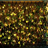 CYLAPEX Pack of 6 LED Starry String Lights with 20 Fairy Micro LEDs on 3.3feet/1m Silver Coated Copper Wire, Battery Powered by 2x CR3032 (Included), for Party Christmas Table Decorations ¡