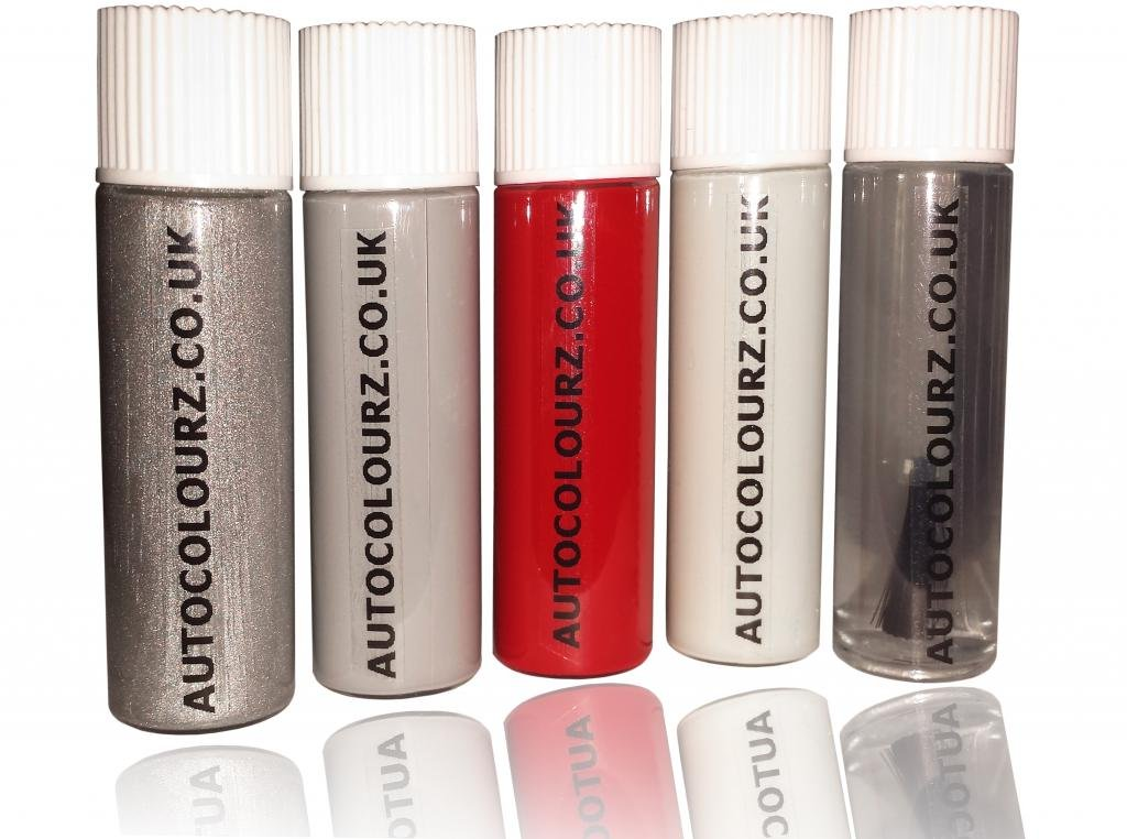 autocolourz voiture Touch Up Peinture Honda Rally/Rallye Rouge CODE