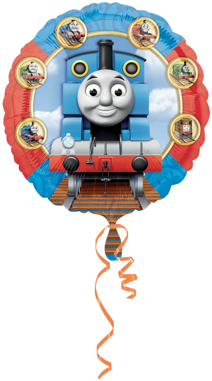 Anagram International Thomas and Friends Foil Balloon Pack, 18', Multicolor 18 2373501.0