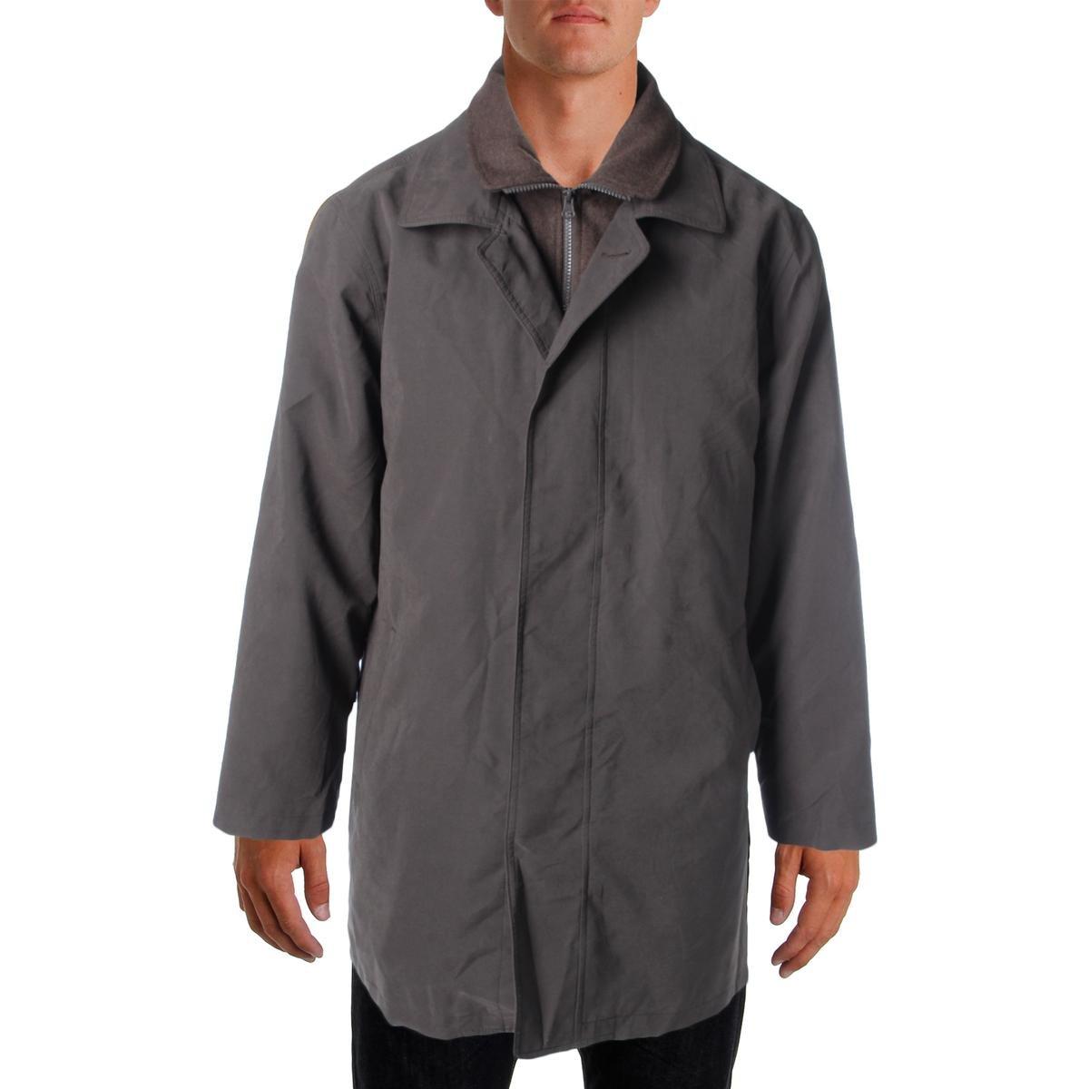 Lauren Ralph Lauren Mens Edgar Water Repellent Lined Raincoat Brown 40L by Lauren by Ralph Lauren