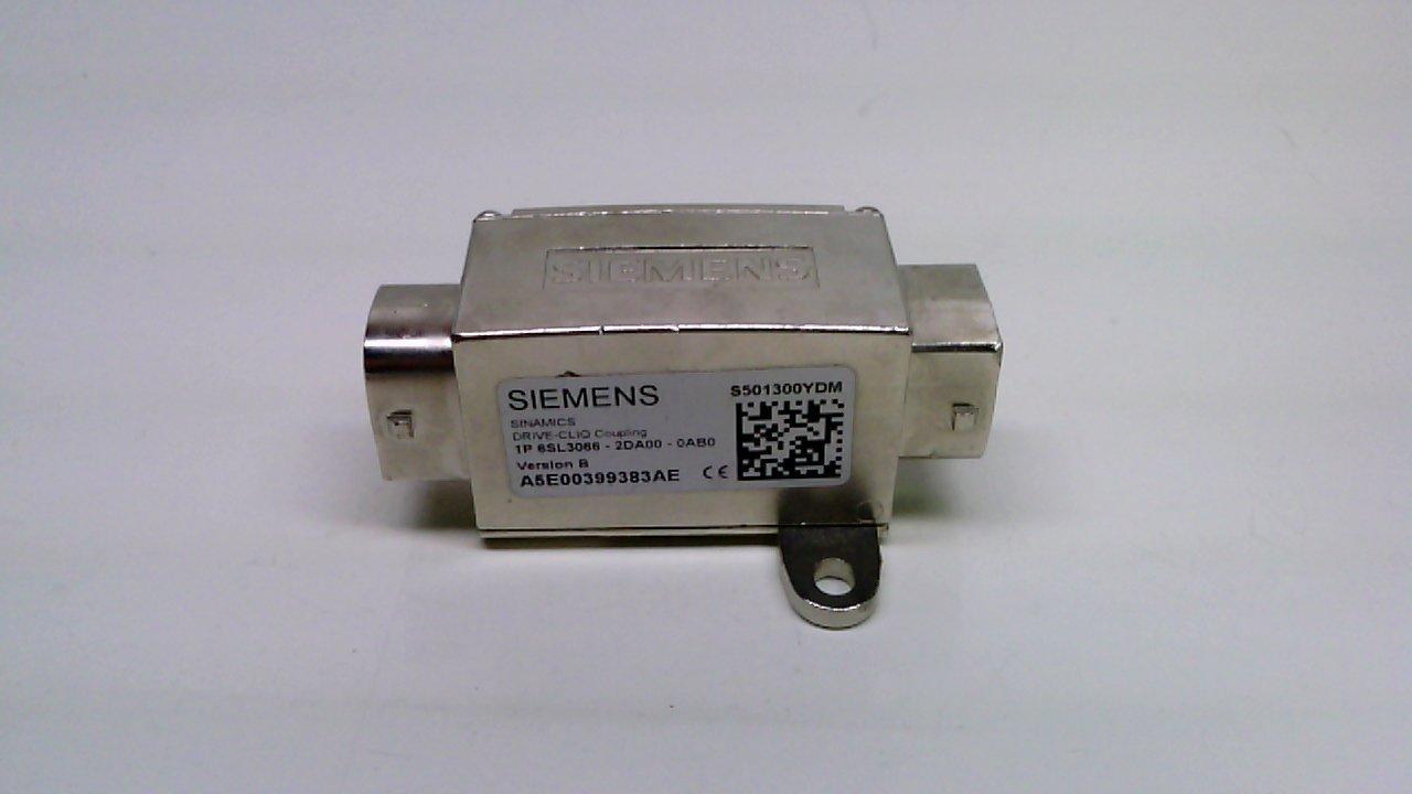 Siemens 6sl3066 2da00 0ab0 Connector Coupling For Drive Cliq Cable Quick Coupler 20ph Industrial Scientific