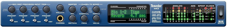 MOTU Traveler mk3 28イン30アウト Firewireオーディオ/MIDIインターフェイス B005PL121U