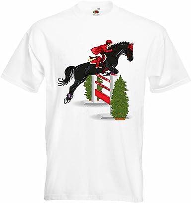 T-Shirt Camiseta Remera El Salto del Caballo HÍPICA Concurso ...
