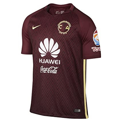 premium selection 2d8a0 66ac6 Nike Mens Club America Stadium Jersey-Team RED