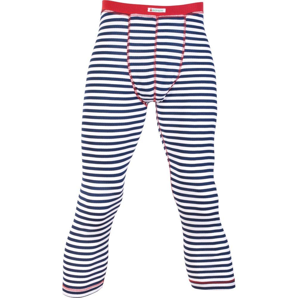 Sionyx Striped Pant blau weiß Herren Hose knielang Funktionsunterwäsche Thermowäsche