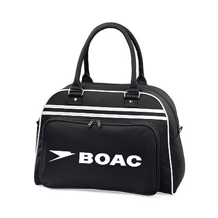a5c80c795b Retro BOAC Flight Shoulder Bag  Amazon.co.uk  Luggage