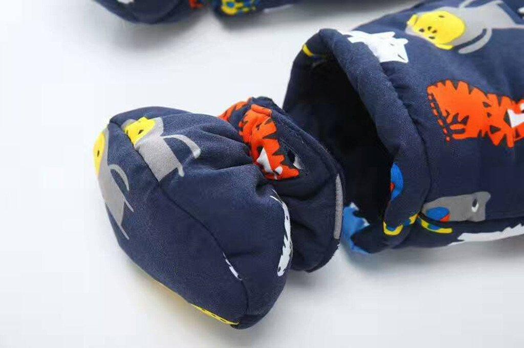 Baby Schneeanzug Spielanzug Winter Overall Rei/ßverschluss Vorne 3-6 Monate