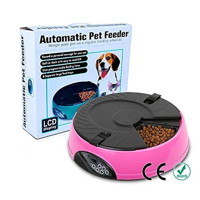 Alimentador automático de mascotas Calendario programable de ...