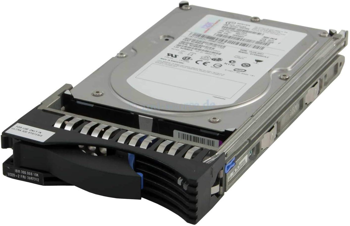 Renewed IBM HDD 300GB 10K U320 SCSI HS