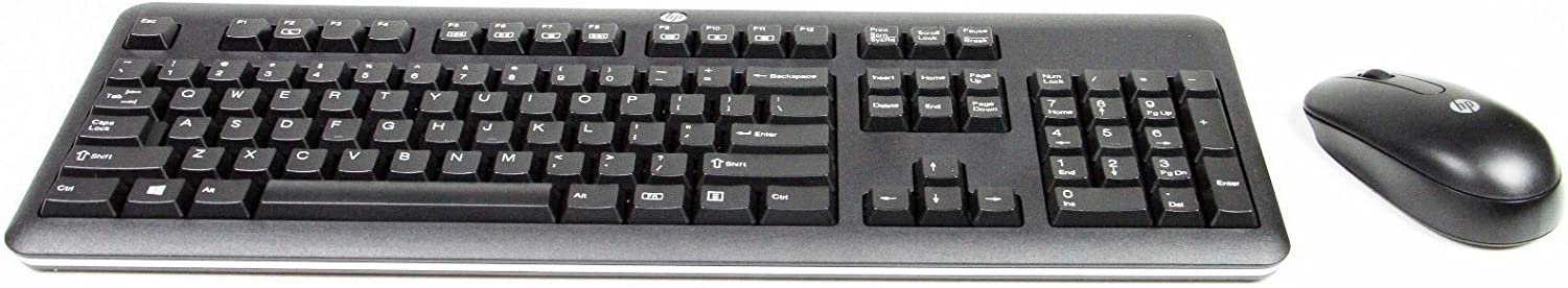 HP 2.4Ghz Wireless Keyboard and Mouse Combo - KBRF57711