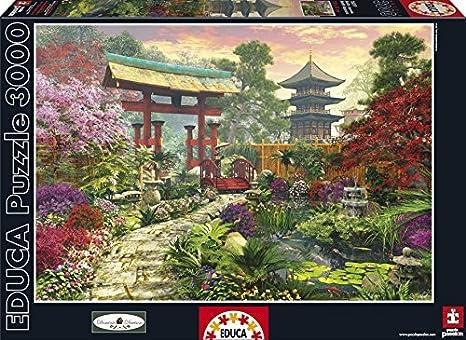 Educa Japan Garden Puzzle (3000 Piece), One Color by Educa: Amazon.es: Juguetes y juegos