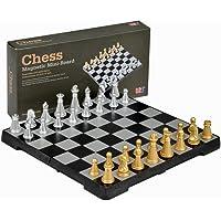 """LanLan Travel Magnetic Chess Mini-Set - 6.3"""""""