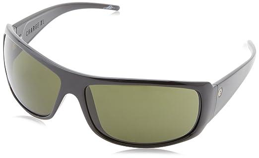 Amazon.com: Electric Charge XL Wrap anteojos de sol, negro ...