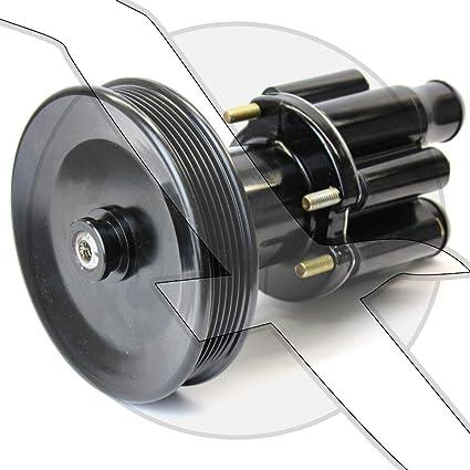46-807151A9 5.0L and 8.2L 7.4L Aluminum Housing Seawater Pump 4.3L 5.7L Replaces: Mercruiser 46-13199