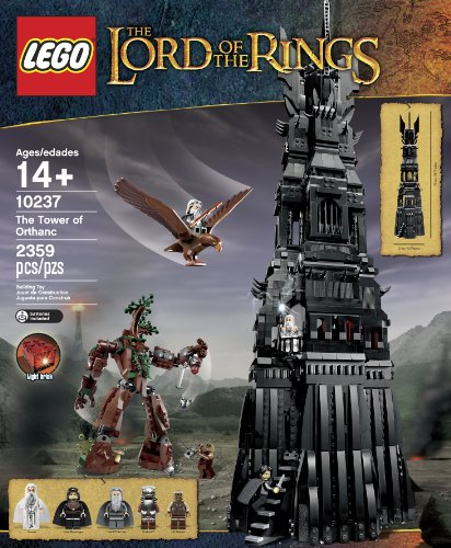 Amazon.com: LEGO Lord of the Rings 10237 Tower of Orthanc Building Set  (Discontinued by manufacturer): Toys & Games
