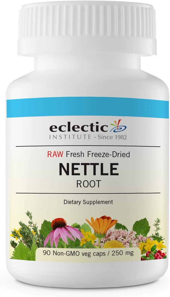 Eclectic Nettles Root Freeze Dried Vegetables, Blue, 90 Count