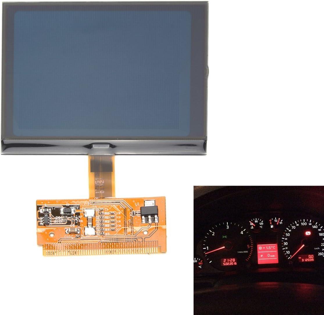 C Funn Auto Fahrzeug Chic Vdo Lcd Cluster Tacho Display Für Audi A3 A4 A6 Auto