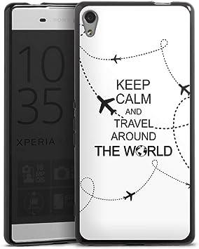 Sony Xperia X Performance móvil Case Funda Móvil Viajes Travel ...