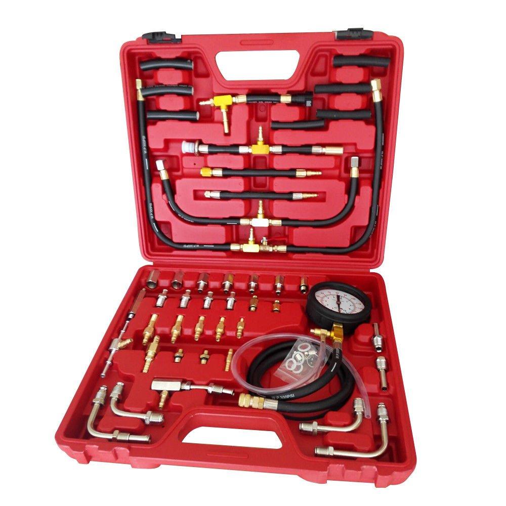 Eapmic 0-140 PSI Manometer Fuel Injection Pump Pressure Injector Tester Test Gauge Kit