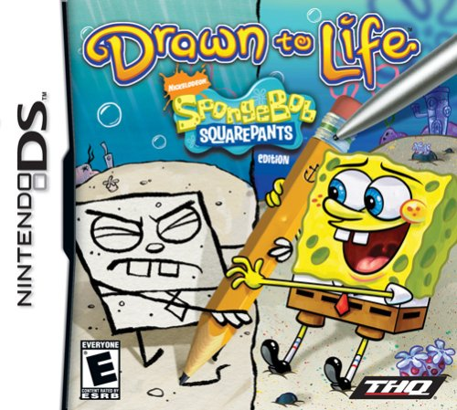 Drawn To Life: Spongebob - Round Outlets At Stores Rock