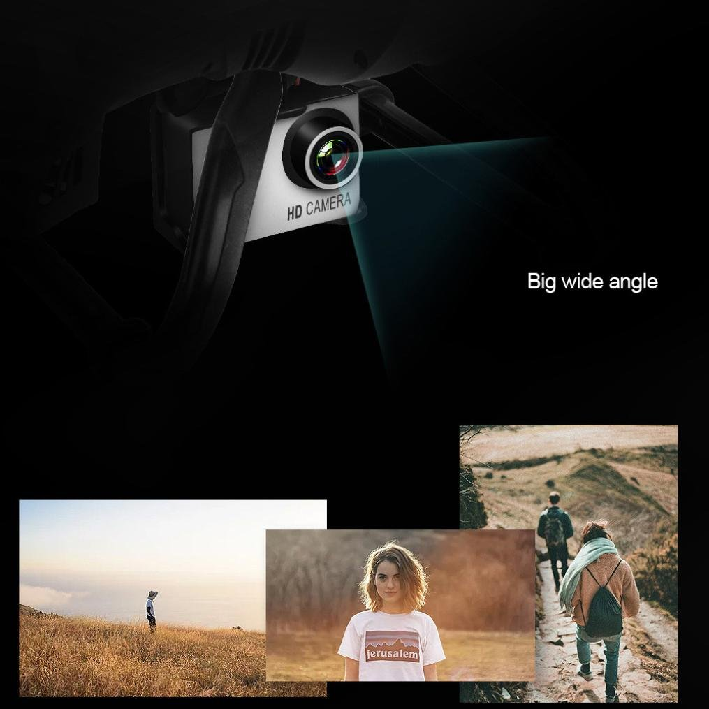 Gbell X183S 5G Drone with 1080P HD Camera WiFi FPV 6-Axis Gyro GPS Drone LED Follow Me - Large RC Quadcopter - Best Birthday New Year Gifts for Boys Girls Kids Adults,Black White (Black) by Gbell (Image #4)