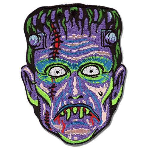 Son of Frankie Frankenstein Monster Patch Embroidered Iron On -