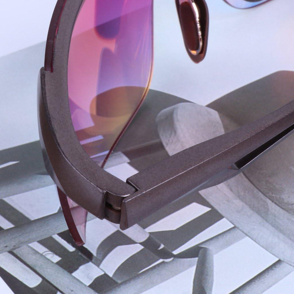 Brucelin Sonnenbrille polarisiert im Freien Radsport f/ür Fahren blau