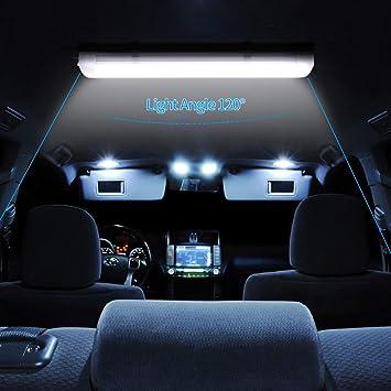 Papasbox Led Innenbeleuchtung 108 Led Auto Innenraumbeleuchtung 12v 80v 9w Led Leiste Mit On Off Schalter Innenleuchte Unterbauleuchte Interior Leuchtstofflampe Für Küche Camping Wohnmobil Boot Auto