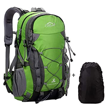 173107e9d1c Meisohua 40L Hiking Backpack Outdoor Waterproof Camping Trekking Rucksack  Traveling Climbing Backpack Mountaineering Bag with Rain Cover