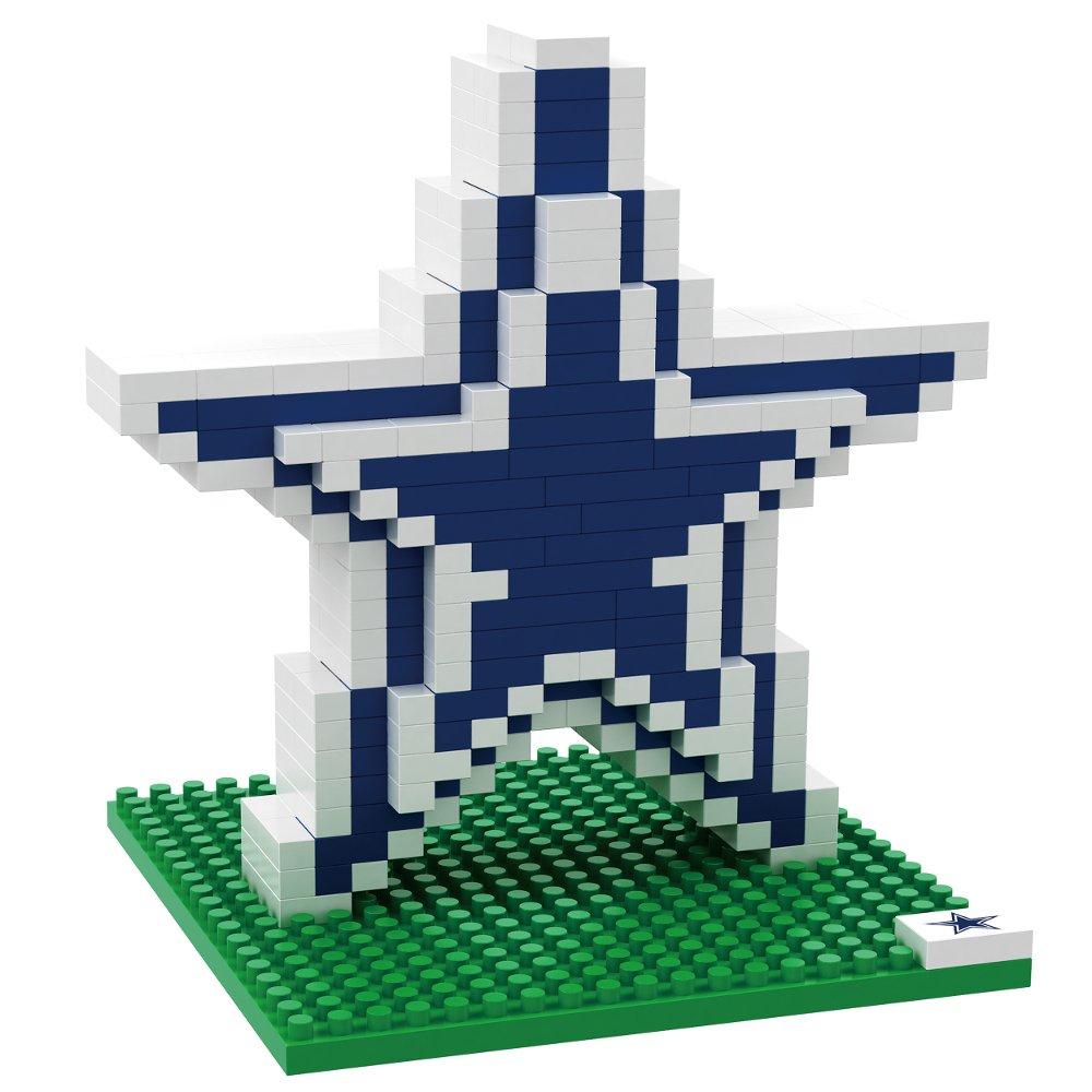 DALLAS COWBOYS NFL Football Team 3D BRXLZ LOGO Puzzle NFL BRXLZ