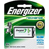 Energizer Rechargeable 9 volt Battery, (NH22NBP)