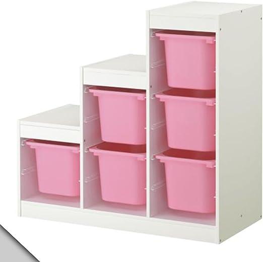 IKEA - Combinación de almacenamiento TROFAST (A2) con cajas ...