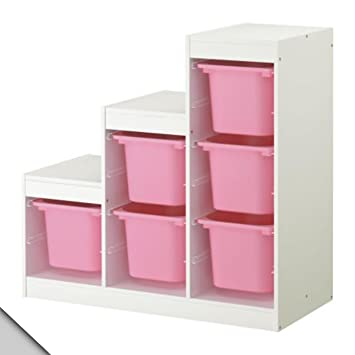 Amazoncom Ikea Trofast Storage Combination A2 With