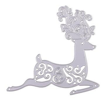 sharplace corte molde repujado carpeta plantilla para Navidad manualidades hacer papel troquel: Amazon.es: Hogar
