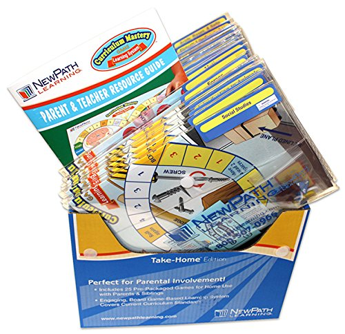 NewPath Learning Social Studies Curriculum Mastery Game, Grade 5, Take-Home Pack by New Path Learning