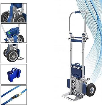 Carretilla Subeescaleras eléctrico ZW7170G XSTO sube escaleras pesos hasta 170kg: Amazon.es: Bricolaje y herramientas