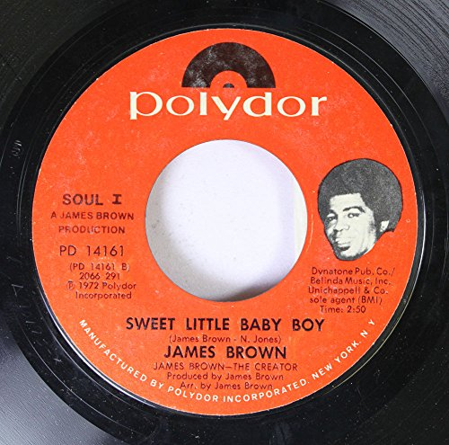 JAMES BROWN 45 RPM SWEET LITTLE BABY BOY / SANTA CLAUS GO STRAIGHT TO THE GHETTO