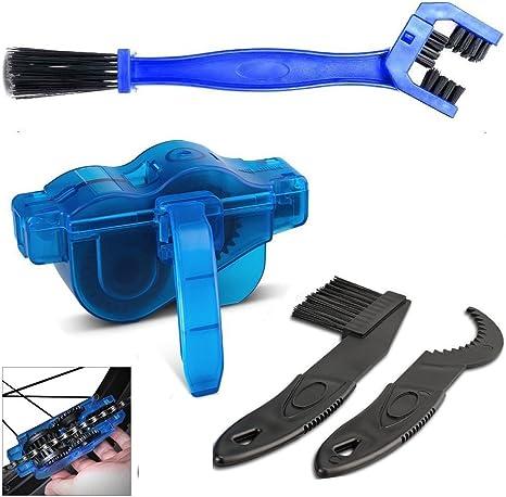 Kit limpiador de cadena de bicicleta, cadenas de limpieza fácil y ...