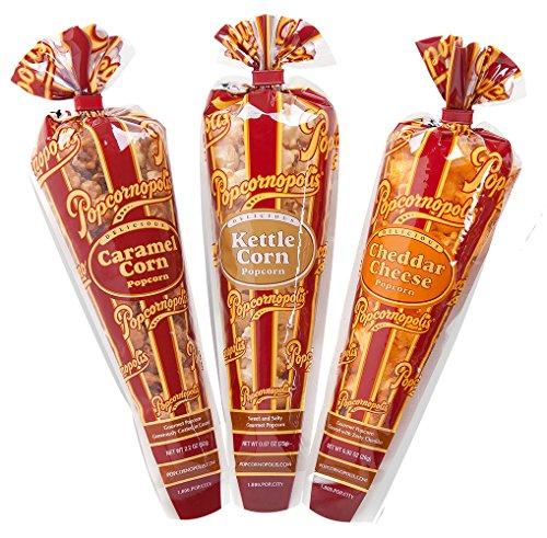 Gourmet Favor (Popcornopolis Gourmet Popcorn Mini cone 24 pack - Classic)