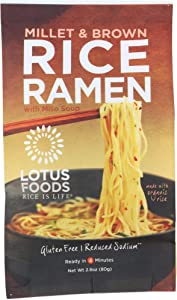 Lotus Foods (NOT A CASE) Millet & Brown Rice Ramen Soup Mix