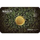 1 gram 9999 / 24 karat pure gold bar