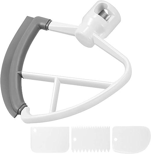 4.5-5 Quart Flex Edge Beater for KitchenAid Tilt Head Stand Mixer Attachment