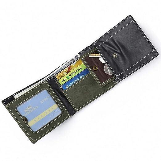 Amazon.com: Monedero para hombre con ranuras para tarjetas ...