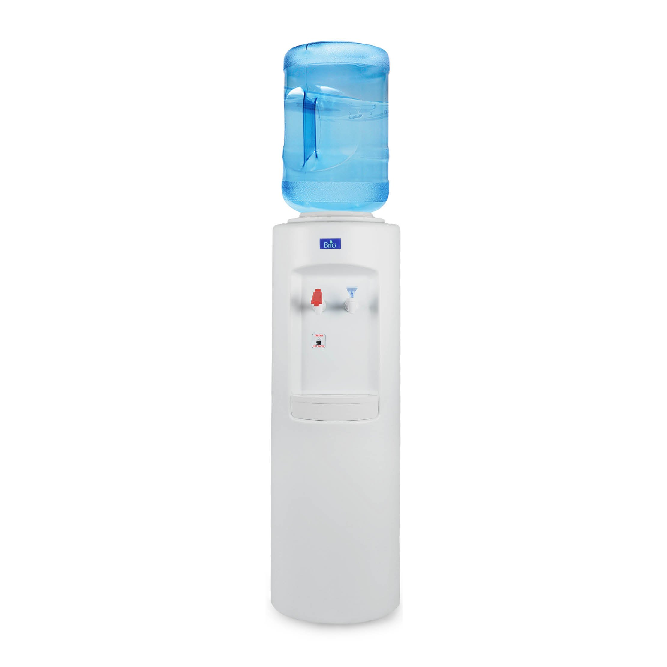 Brio CL500 Commercial Grade Hot and Cold Top load Water Dispenser Cooler - Essential Series by Brio