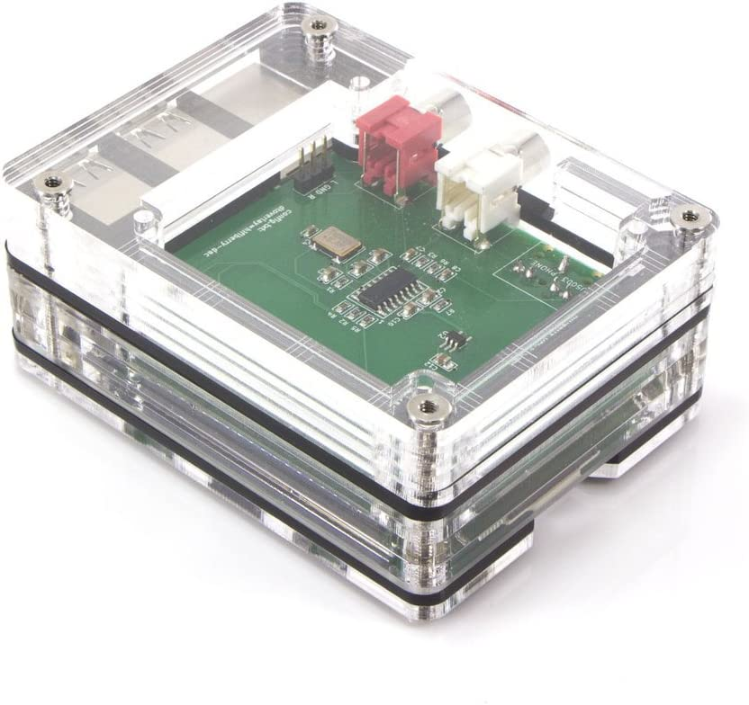 Raspberry Pi3B+ Top HAT Tall Upgrade Kit for Zebra Case 3 Pi2 B B+ Black