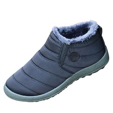 Mens Womens Waterproof Rain Snow Boot Warm Winter Short Comfort Booties Sneakers Trainers Outdoor Shoes
